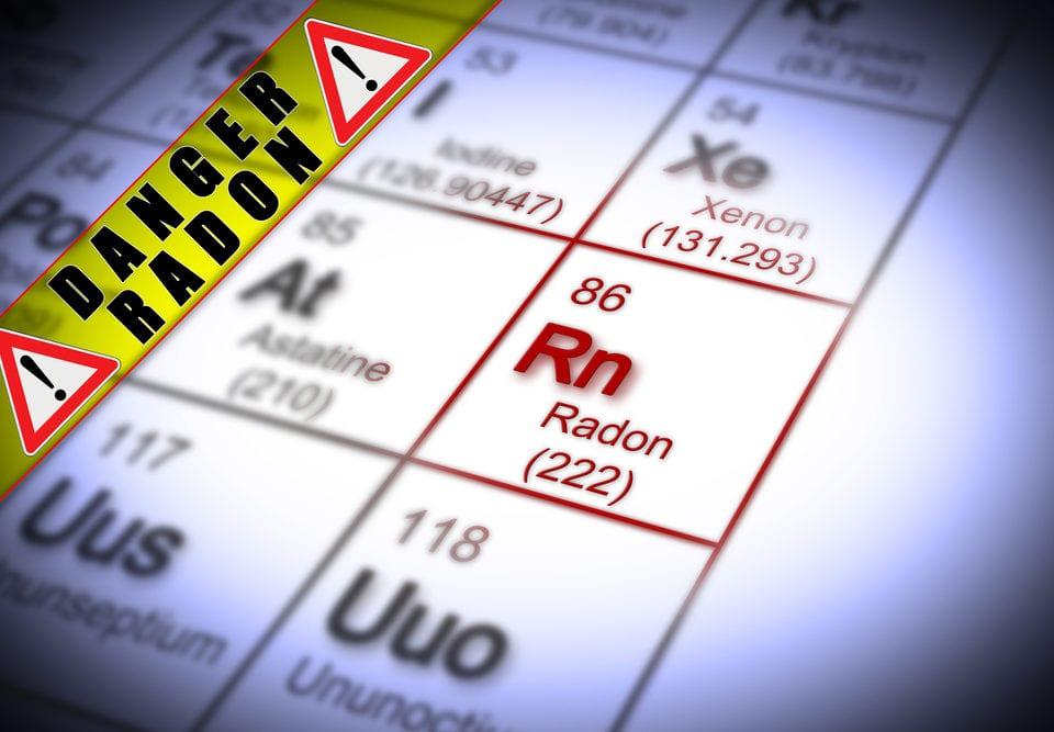 risks testing radon gas