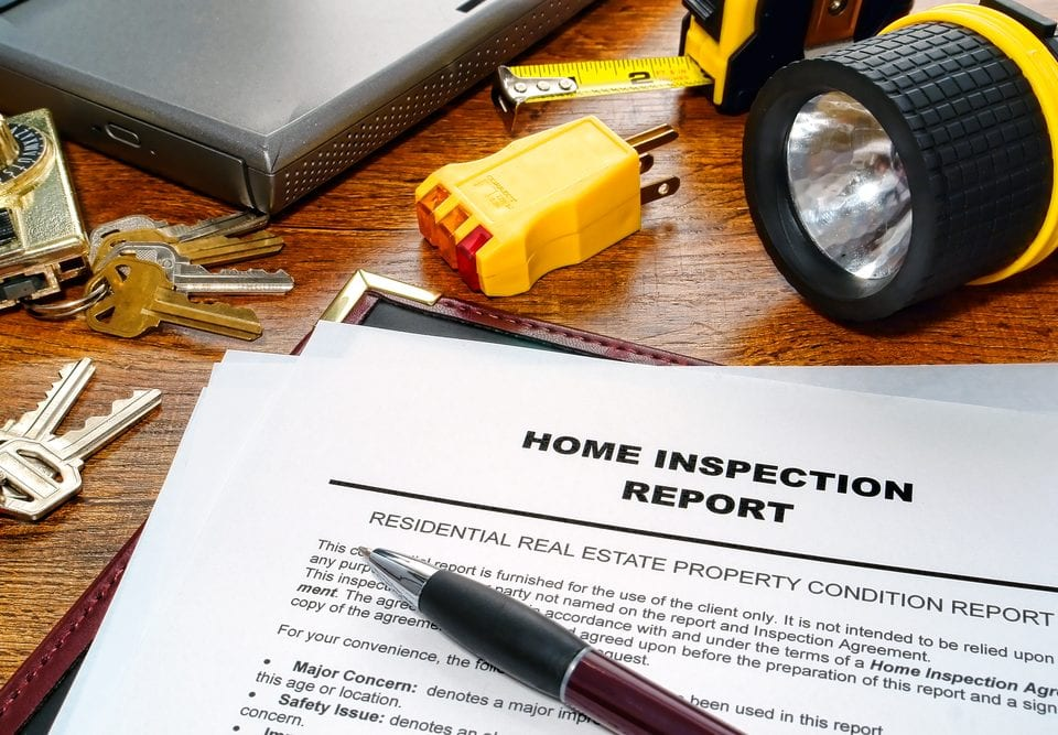 history home inspection reports