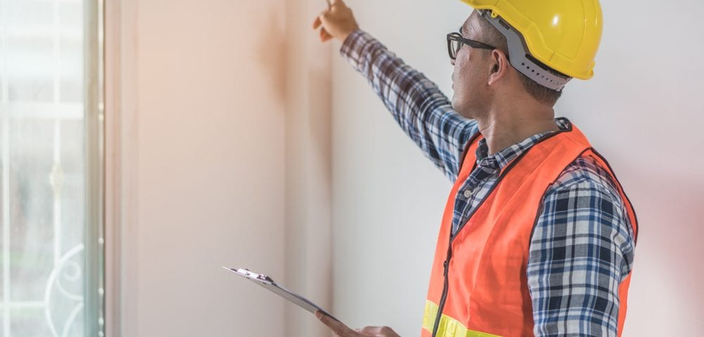 home inspection visual operation